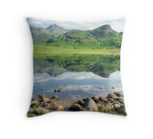 Blea Tarn and the Pikes Throw Pillow