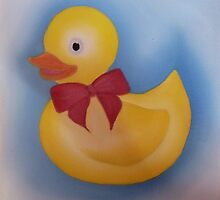 Bath duck. by Lianne Oost