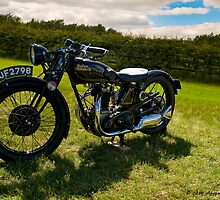 1928 Rudge Whitworth by David J Knight