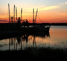 Hilton Head Sunset by jstoeber