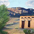 Abandoned Adobe by Barbara Applegate