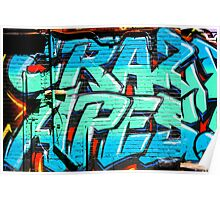 Graffiti Craze 1 Poster