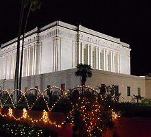 Christmas Temple by Leyla Hur