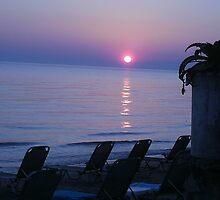 Greek Sunset by Aimeej