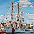 USCG Eagle Tall Ship (Verticle Panoramic) by MKWhite