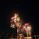 Fireworks On Sunday Lake by AuntieJ