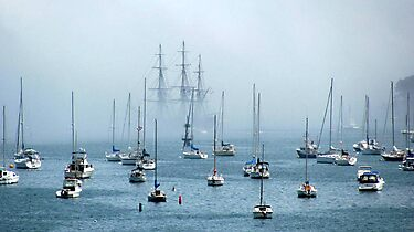 Sailing into the Fog   by Monica M. Scanlan