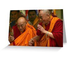 elder statesmen. northern india Greeting Card