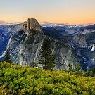 Twilight at Glacier Point by Terence Russell
