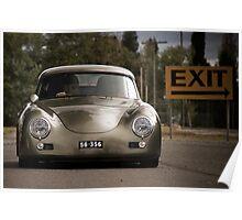 Porsche 356 Outlaw Poster