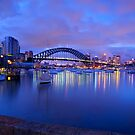 harbour  bridge by donnnnnny