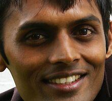 Portrait of Arun by Gilberte