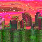 Inner City - Night Falls by Wendy J. St. Christopher