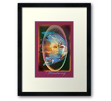 Windsong from the Bird Tribe Framed Print