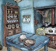 Farm Kitchen  by Marie Theron