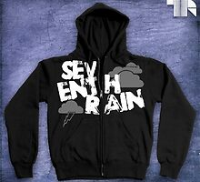 "Seventh Rain ""Storm"" Hoodie Design by RichMacFarlane"