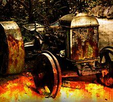 Vintage Burnout by Tanya Rossi