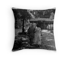 """the oldest and dearest of friends"" Throw Pillow"