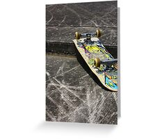 Street Skate Greeting Card
