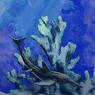 Ichthyosaurus, species unknown by Sean Craven