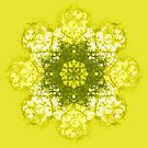 green flower by Agnew & Roberts