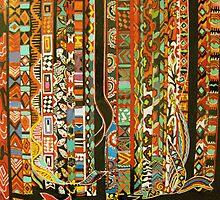 back strap weaving by Linda Arthurs