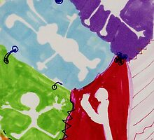 Wallpaper Escapade by carol selchert