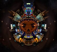 Federation Square Spherical Panorama HDR by mark burban