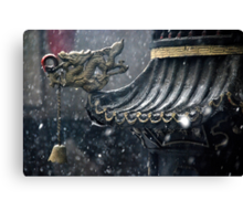 Ping Yao - The bell. Canvas Print