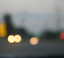 road bokeh by moriahsmiles