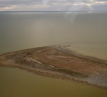 lake Eyre by air by donnnnnny