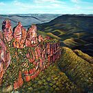 Three Sisters, Blue Mountains, Australia by  Linda Callaghan