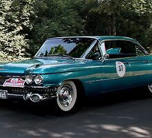 Cadillac, Series 62 Sedan from 1959 by Heike Nagel