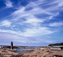 skyscape. cape paterson, victoria  by tim buckley | bodhiimages
