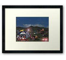 Welcome To The Bates Motel Framed Print
