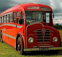 Foden Coach by David J Knight