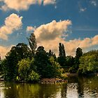 Longton Park Lake by David J Knight