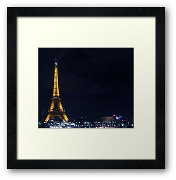 Eiffel Tower, Paris by Elena Zirinis