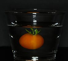 Abstract - Tomato in a Shot Glass by adpixels