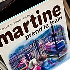 Martine prend le train by Angel Benavides