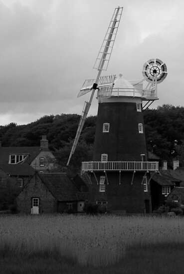 Cley Mill (2) by Justin Clark