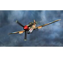 Flying Tiger P40 Warhawk Photographic Print