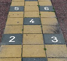 Playground hopscotch by Marjolein Katsma