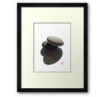 The Balance Between Object and Shadow III Framed Print