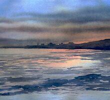 Sunset over Bridlington by Glenn Marshall