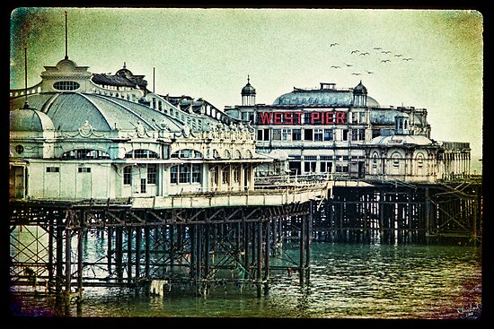 Brighton's Victorian West Pier by Chris Lord