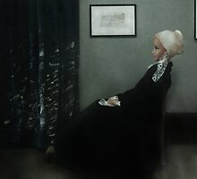 Whistlers Mother - reinterpretation. by Sniperphotog