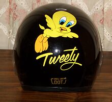 Tweety Angel Helmet by JoyceIone