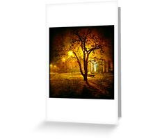 In The Midnight Hour, She Wants More... Greeting Card