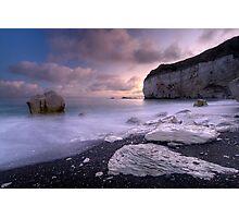 White Rock Sunset Photographic Print